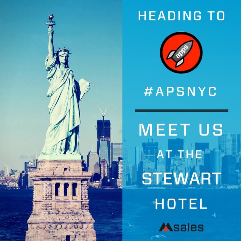 app promotion summit, msales, new york