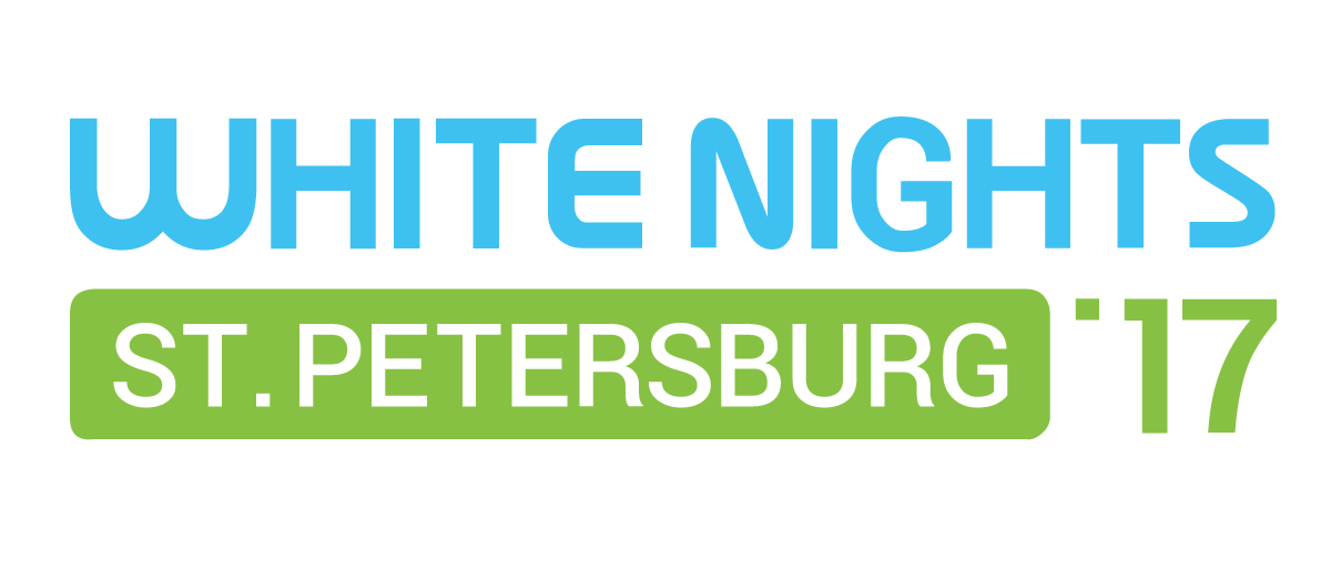 White Nights St. Petersburg 2017 Logo