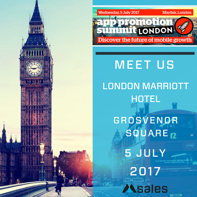 app promotion summit 2017, msales, mobile growth